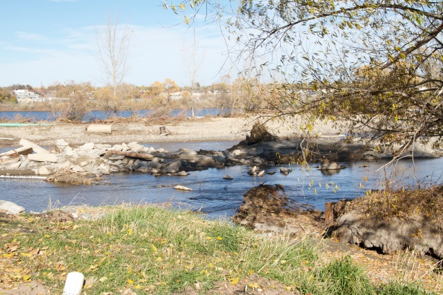 St. Vrain Creek in Longmont