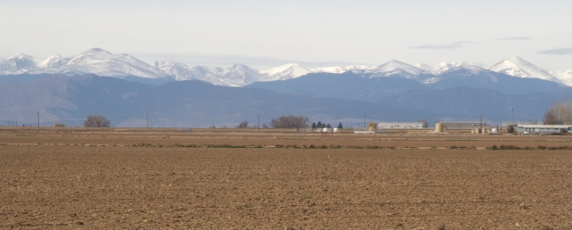 Shot of the Mountains from the Plains